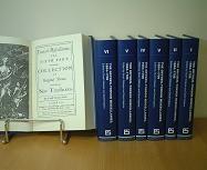 The Dryden-Tonson Miscellanies, 1684-1709ドライデン・トンソン編『英国17−18世紀詞華集』 (英文復刻版) 全6巻