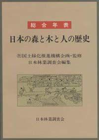 総合年表 日本の森と木と人の歴史