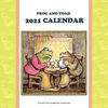 FROG AND TOAD 2021 がまくんとかえるくんカレンダー