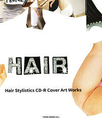"""Hair Stylistics CD-R Cover Art Works"" BOOK WITH CD ""BEST!"" Hair Stylistics(著/文) - TANG DENG"